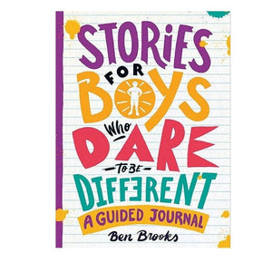Stories For Boys Who Dare To Be Different Journal by Bookspeed - A Fly Went By