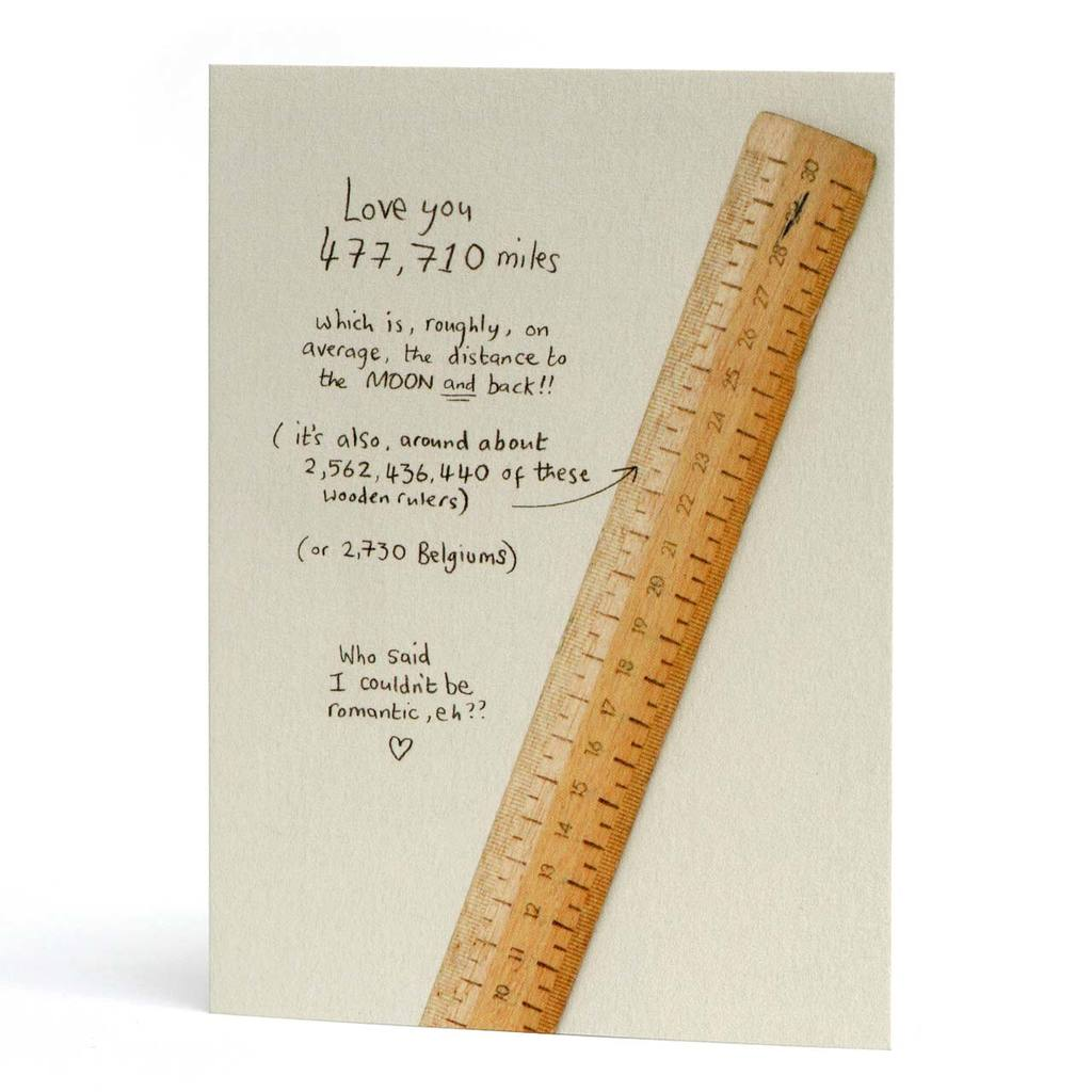 'Love You 477,710 Miles...' Card