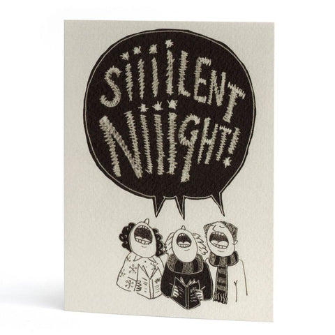 'Silent Night' Christmas Card