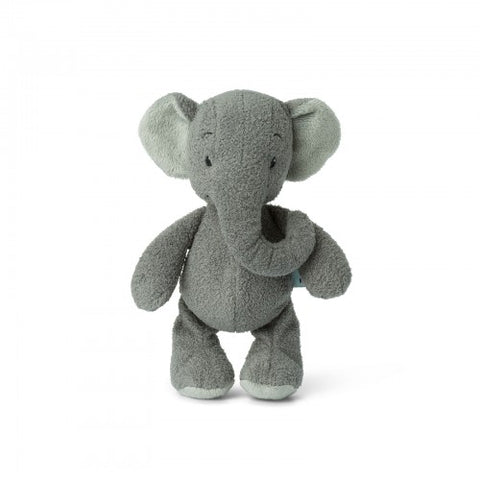 Ebu The Grey Crinkly Eared Elephant Sensory Toy by WWF Cub Club - A Fly Went By