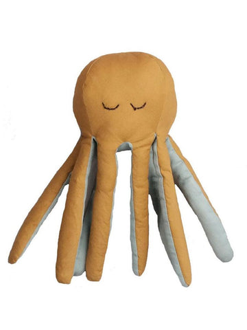 Soft Organic Cotton Octopus Rattle