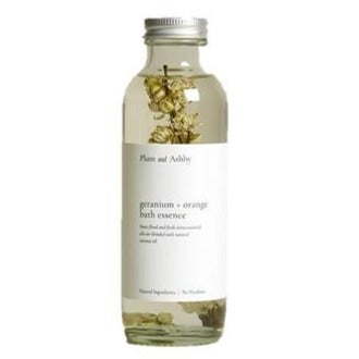 Geranium and Orange Bath Essence by Plum and Ashby - A Fly Went By