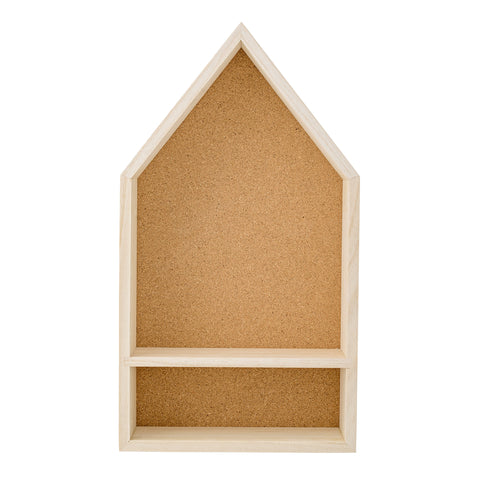 Bloomingville Wooden House Display Shelf Homeware- a-fly-went-by.myshopify.com