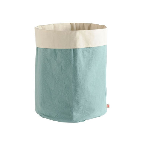 Duck Egg Canvas Storage Bag by Bohemia - A Fly Went By