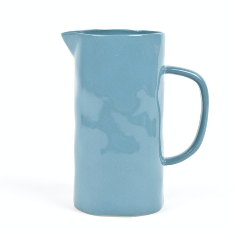 Quail's Egg Large Petrol Blue Ceramic Jug
