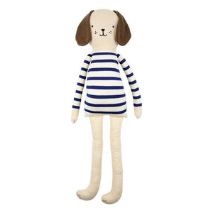 Meri Meri Organic Cotton Russell Dog Toy Children- a-fly-went-by.myshopify.com