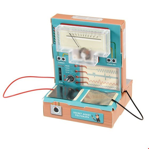 child's lie detector creative kit completed
