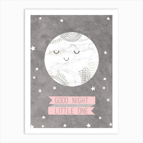 'Goodnight Little One' A4 Print by Dainty Forest - A Fly Went By