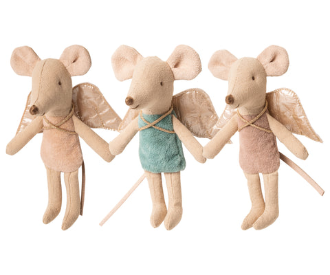 maileg Little Sister Fairy Angel Mouse