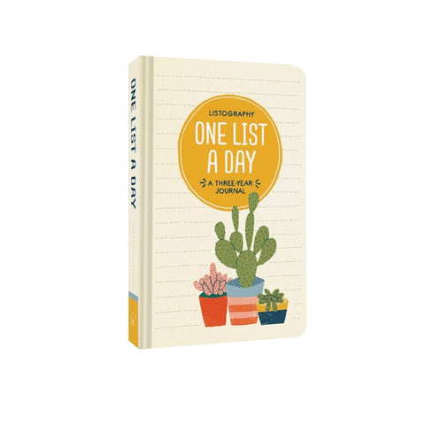 One List a Day Journal