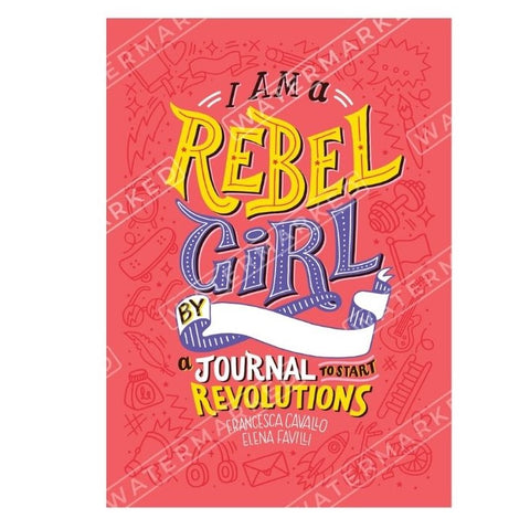 I Am A Rebel Girl Journal by Bookspeed - A Fly Went By
