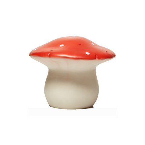 Heico Medium Red Toadstool Night Light Lamp Homeware- a-fly-went-by.myshopify.com