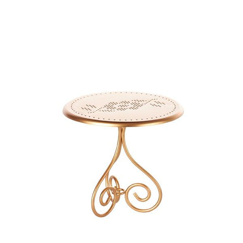 Romantic Gold Metal Table