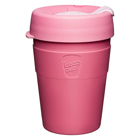 Thermal Reusable Cup 12oz Saskatoon Pink by KeepCup - A Fly Went By