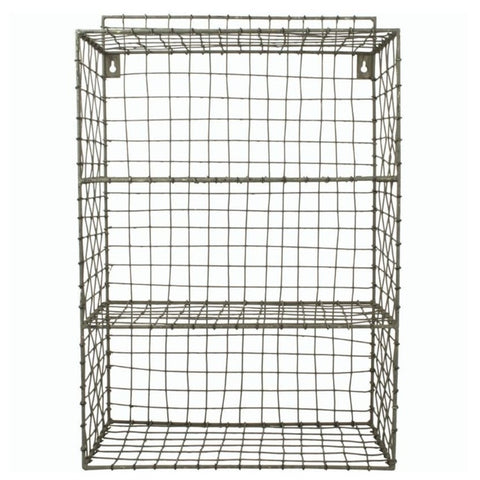 Wire Shelf Cube Unit by Grand Illusions - A Fly Went By