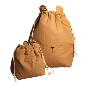 Large Ochre Bear Storage Bag