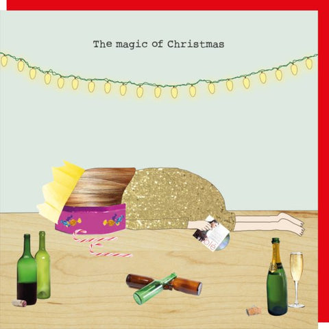 Rosie Made a Thing 'The Magic of Christmas' Card Stationery- a-fly-went-by.myshopify.com