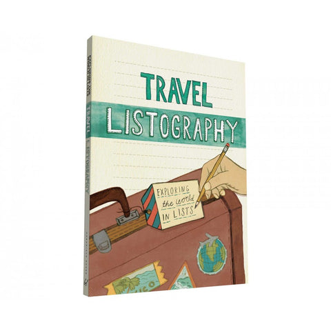 Bookspeed Travel Listography Journal Stationery- a-fly-went-by.myshopify.com