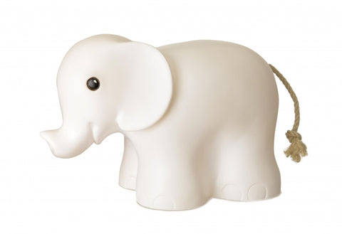 White Elephant Night Light Lamp
