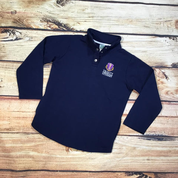 TRINITY - YOUTH NAVY MILLER PULLOVERS