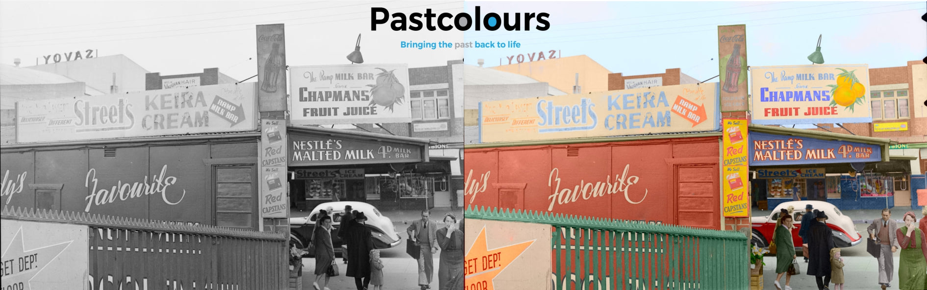 Colourisation of old B/W photos, Why? Photography, Art, Artists & Colour since Prehistoric times.