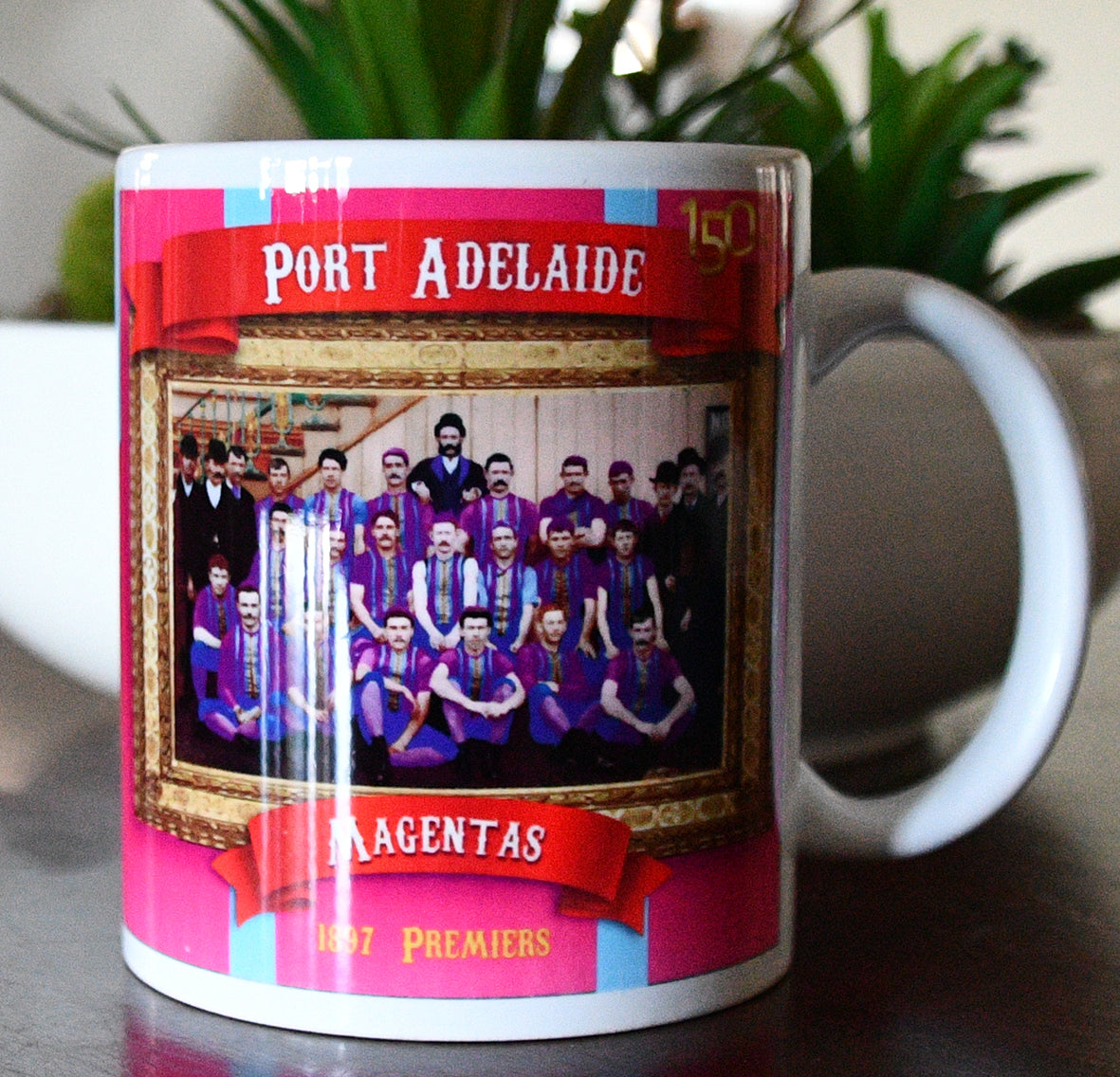 Port Adelaide Football Club 1897 Premiers- Collectors Mug- Footy Photo Mugs