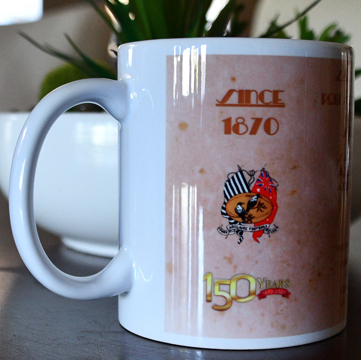 Port Adelaide Football Club 1910 Premiers Mug- Collectors Piece- Footy Photo Mugs