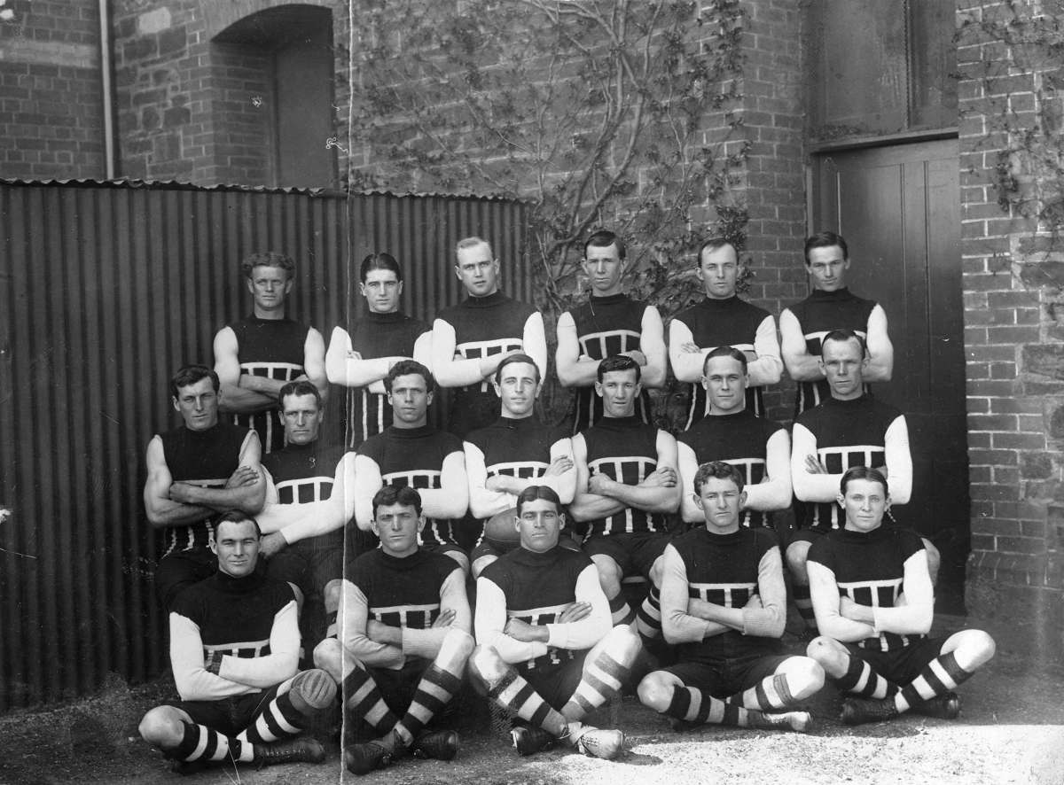 Port Adelaide Football Club 1914 - The Invincibles - Footy Photo