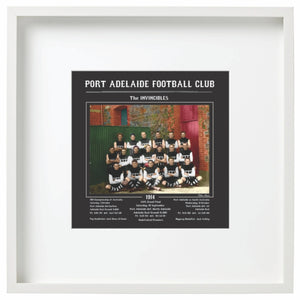Port Adelaide Football Club 1914 - The Invincibles-Framed