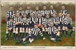 Collingwood Football Club 1907 Colorized-Footy Photo