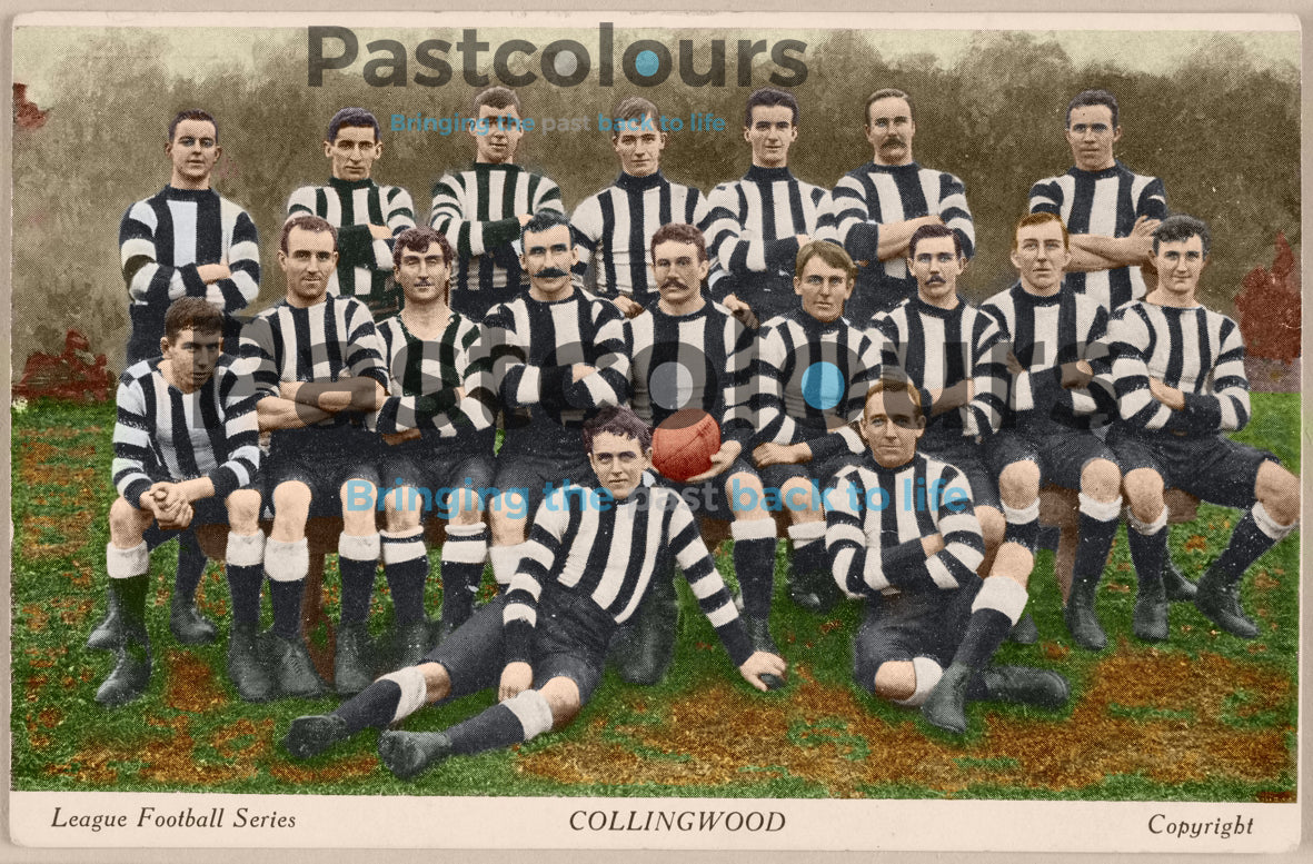 Sports Club Team Photos: Colourised