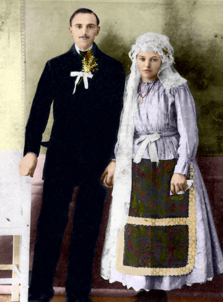Couple Portrait Style Colorization