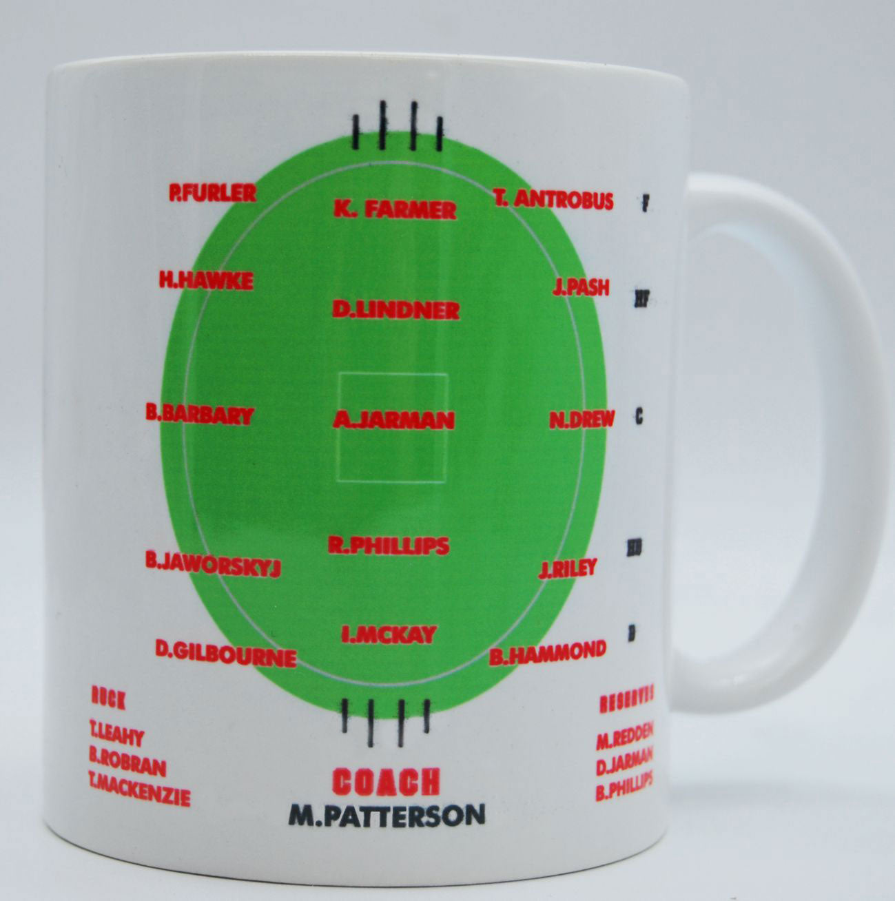 North Adelaide Football Club:  Team of The Century Mug