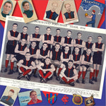Norwood Football Club: 300 mm x 300 mm - Footy Photo Tile