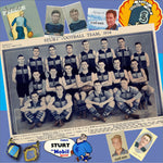 Sturt Football Club: 300 mm x 300 mm - Footy Photo Tile