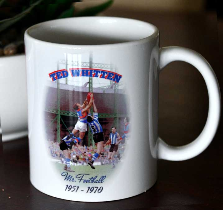 Ted Whitten Mark at Arden Street -Mug