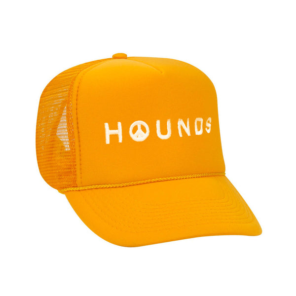 HOUNDS PEACE TRUCKER HAT - GOLD