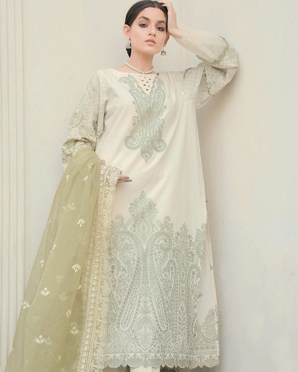 Jasmine Embroidered Lawn 3Pc NEL-21612