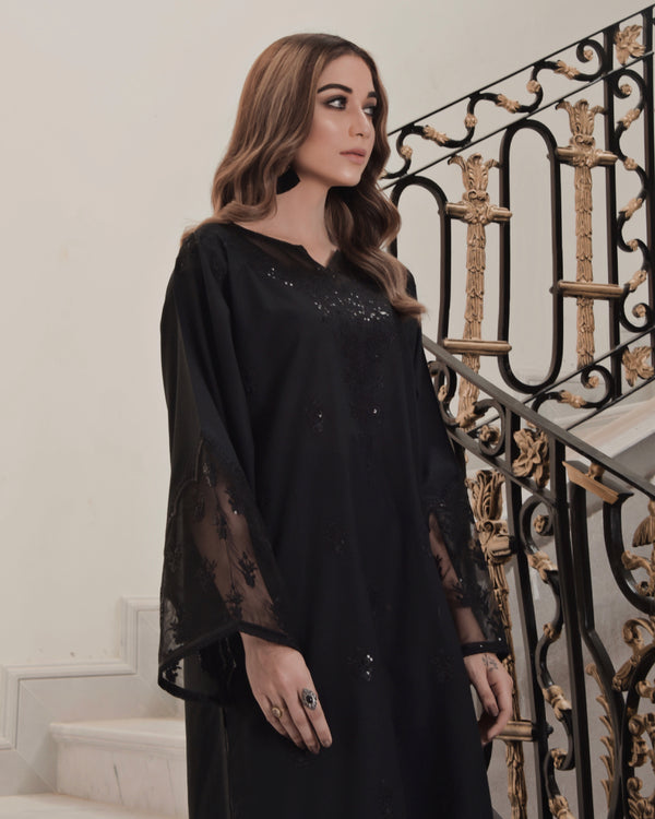 Black Swan Embroidered Lawn 2Pc NPA2 21320