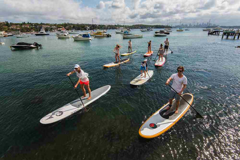 Watsons Bay SUP lessons and group sessions