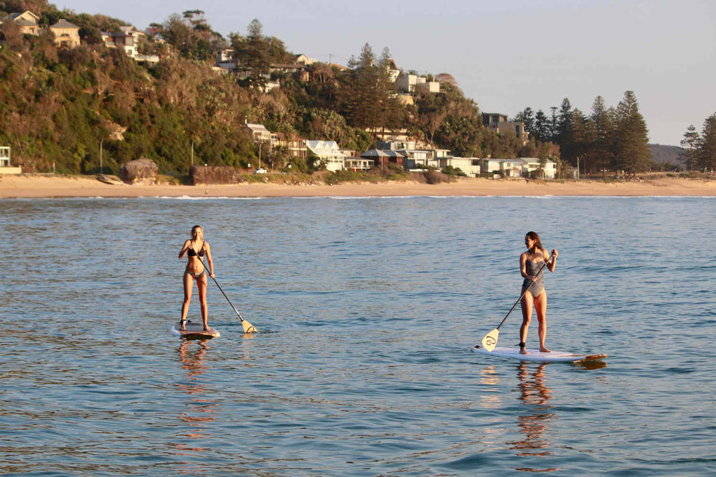 Paddling with Ben Buckler Stand Up Paddle Boards