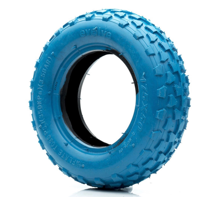 "Front Off Road Tyres 7"" blue"