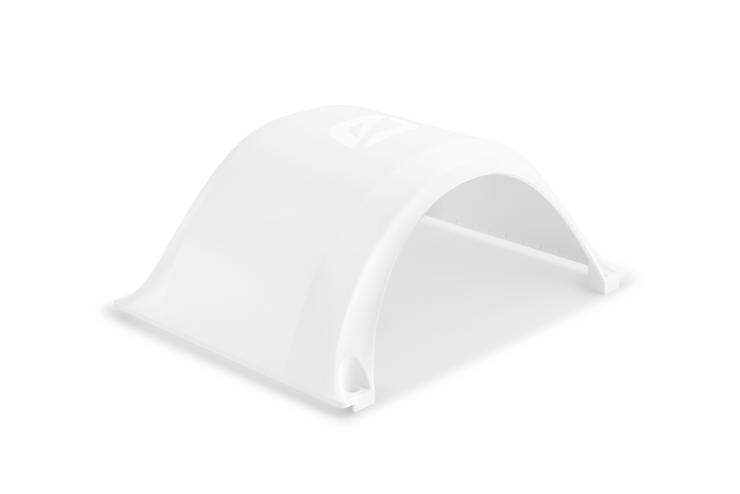 Onewheel fender by future motion in white