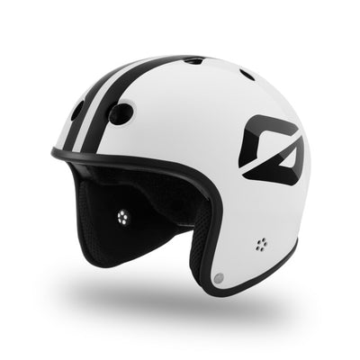 Angle side view Onewheel Retro Helmet by S1