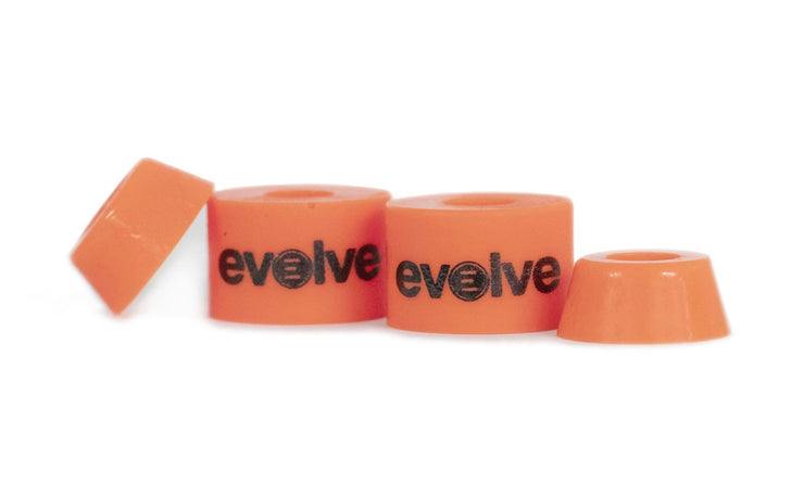 Orange bushing by evolve front view