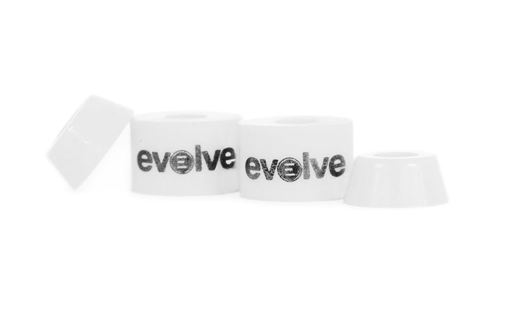 White bushing by evolve front view
