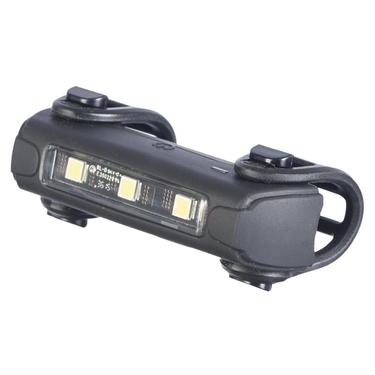 Bike light front by trident side view with lights