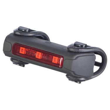 Bike light rear by trident side view with lights turned off