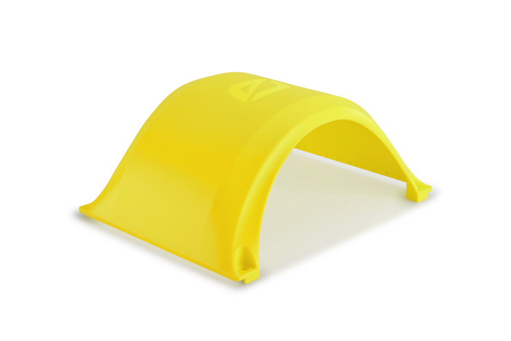 Yellow Onewheel fender by future motion