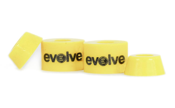 Front view bushing by evolve in yellow